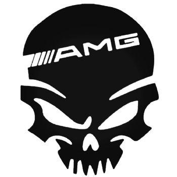 Skull AMG Car Stickers Motorbike Vinyl Decals Fairings Panniers